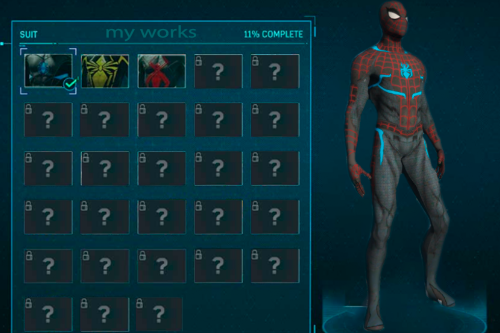 Spiderman Secret War [Add-on ped]