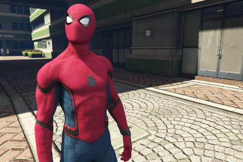Spiderman Stark Suit [Add-on Ped]