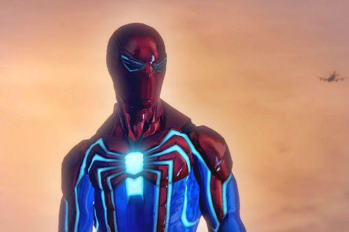 PS4 Spider-Man Velocity Suit