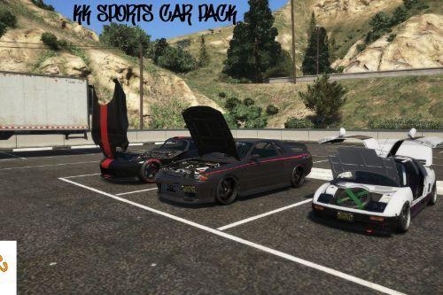 Sports car pack (Menyoo)