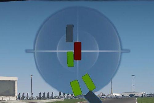 Racing radar and proximity indicators
