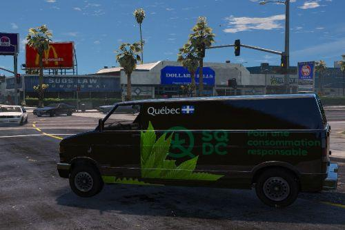 SQDC car Texture SP weed
