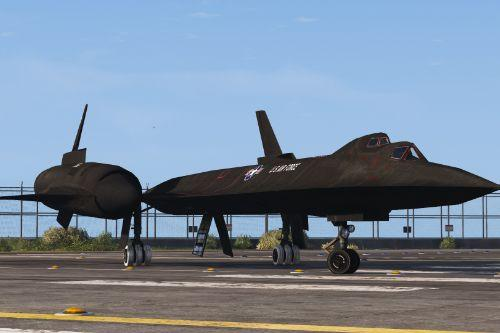 SR-71B Blackbird Trainer Aircraft [Add-On | Tuning]
