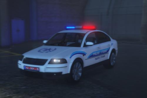 Israel Volkswagen police | old skin [1997 - 2003]