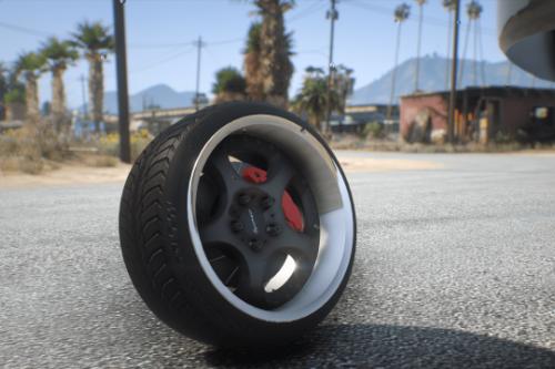 SSR Gartmaier wheel (Paintable)