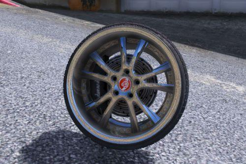 Kranze Lxz wheel - GTA5-Mods com