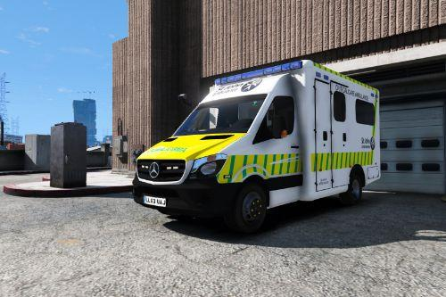 St John Ambulance Critical Care Ambulance