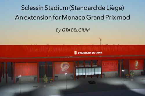 Stadium expansion for Monaco GP (Stade Sclessin)