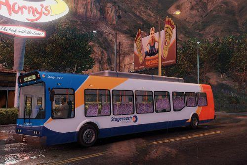 Stagecoach Bus Los Santos (With Interior) (The Original)