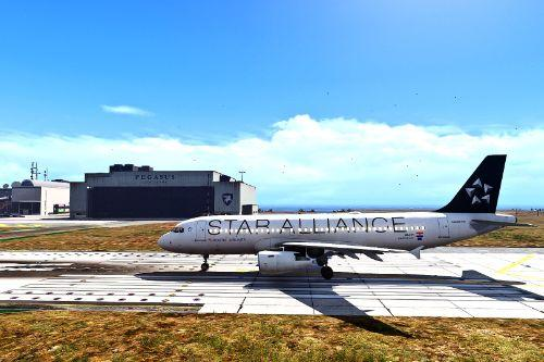 Star Alliance Livery Pack for Airbus A320