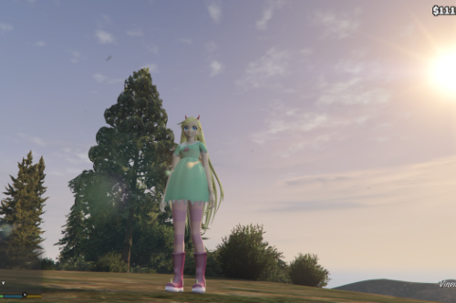 Star Butterfly [Add-On Ped] [MMD V]