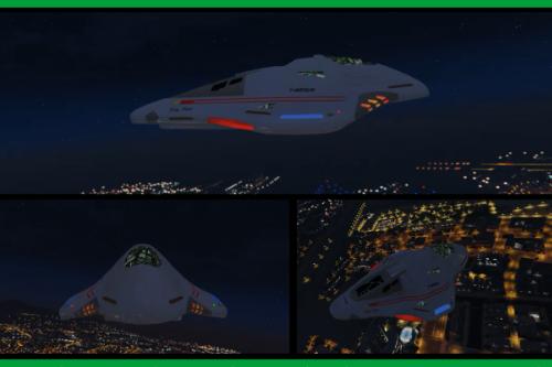 Star Trek: Delta Flyer-II [Add-on]