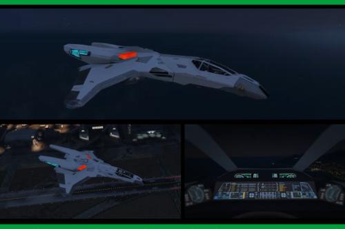 Star Trek: Valkyrie-Class Warp Fighter-Mk II [Add-on]