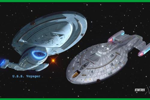 Star Trek: Voyager NCC 74656 [Add-On]
