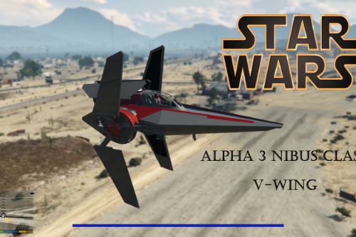 Star Wars ALPHA 3 NIBUS CLASS V-WING [ADD-ON]