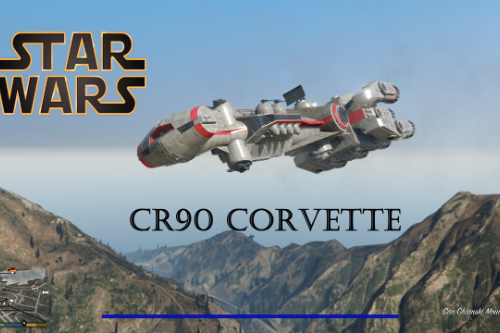 Star Wars CR90 CORVETTE [ADD-ON]