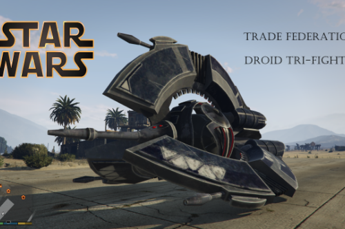Star Wars DROID TRI-FIGHTER [Add-On]