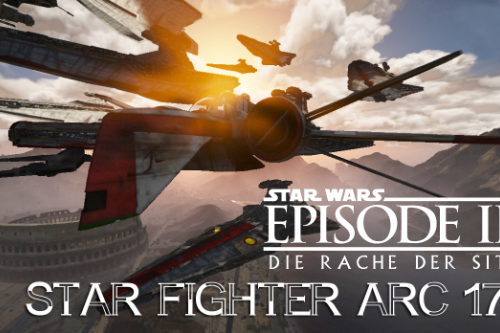Star wars III ARC-170 Star Fighter ADDON/REPLACE