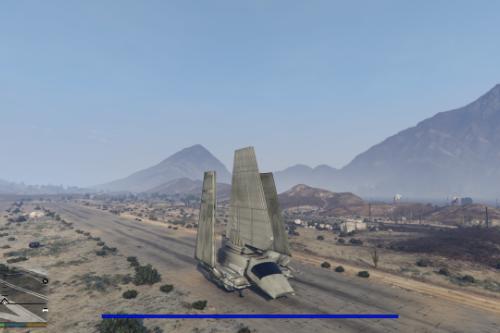 Star Wars Imperial Lambda Shuttle [Add-On]