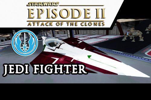 Star WARS - Jedi Fighter Ep2 Attack of the Clones