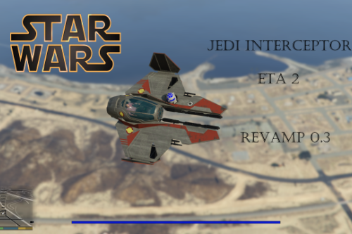 Star Wars Jedi Interceptor ETA 2 [Add-On]