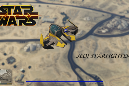 Star Wars Jedi Starfighter [Add-On]