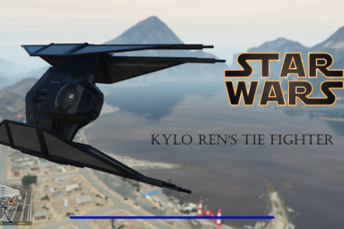 Star wars Kylo Rens TIE FIGHER [ADD-ON]