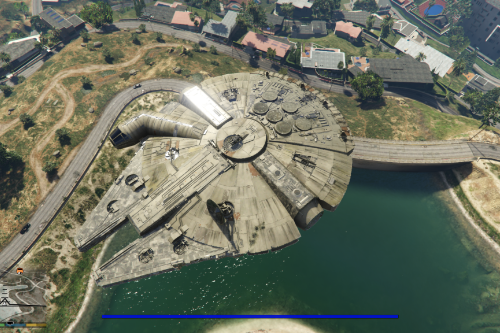 Star Wars Millennium Falcon [Add-On]