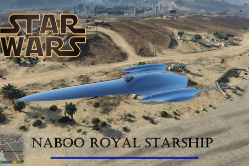 Star Wars Naboo Royal Starship [ADD-ON]