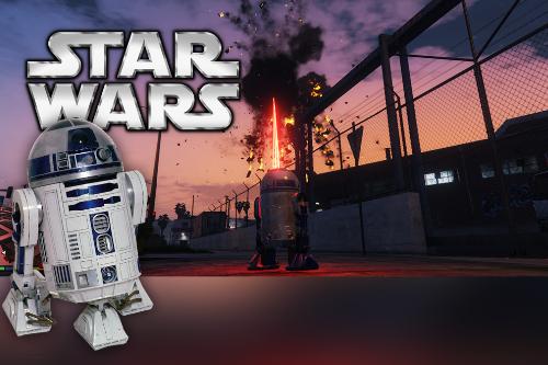 Star Wars R2D2 script