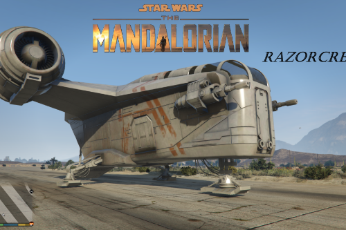 Star Wars  Razorcrest [Add-On]