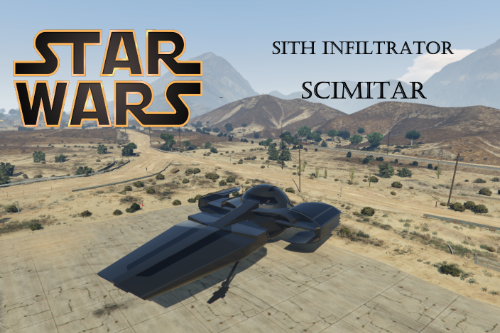 Star Wars SITH INFILTRATOR [ADD-ON]