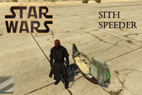 Star Wars Sith Speeder [ADD-ON]