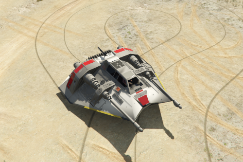 Star Wars Snowspeeder [Add-On]