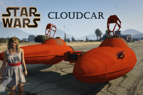 Star Wars Twin Pod Cloud Car [Add-On]
