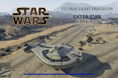 Star wars YT-2400 Light Freighter [ADD-ON]
