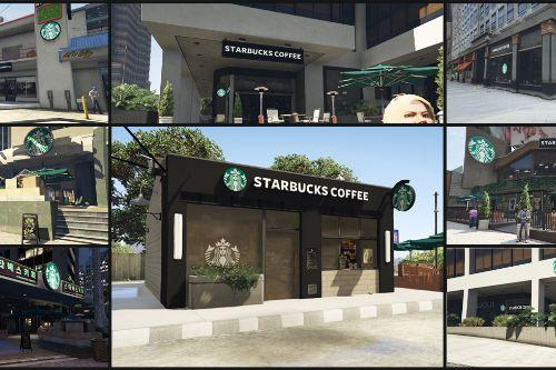 Starbucks Coffee Shops [Add-On SP / YMAP]