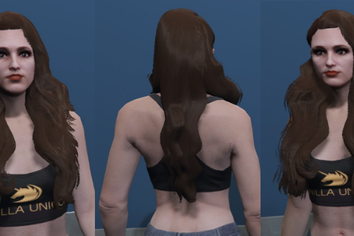Starlet Hair - Custom haircut for MP Female  [SP / FiveM]