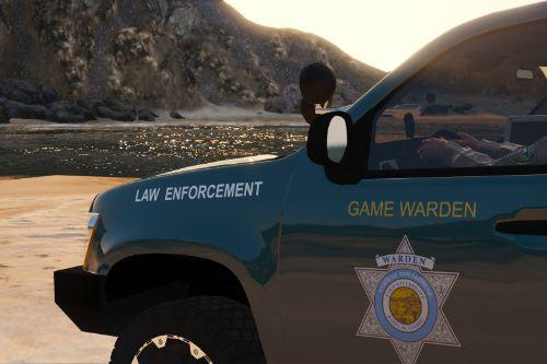 State of San Andreas Game Warden Skin Pack (8 Vehicles)