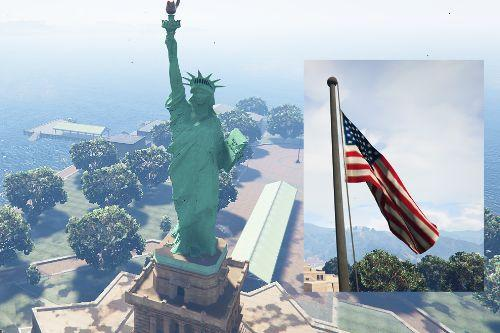 Statue of Liberty - Happiness Island [YMAP]