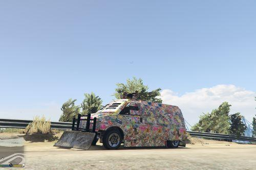 Stickerbomb Camo for After Hours Vehicles