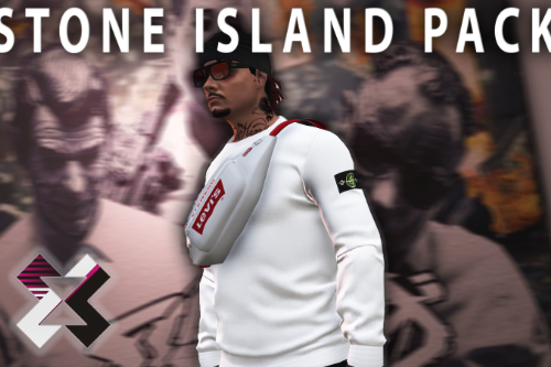 Stone Island Shirt Pack MP Male  [SP / FiveM]