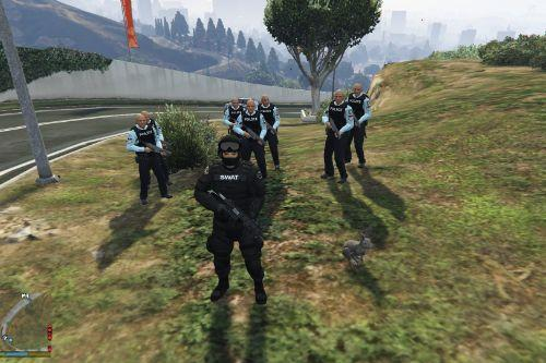 Stop The Robbery as Police [Mission Maker]