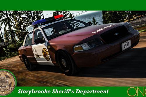Storybrooke Sheriff's Department Crown Vic (Once Upon A Time)