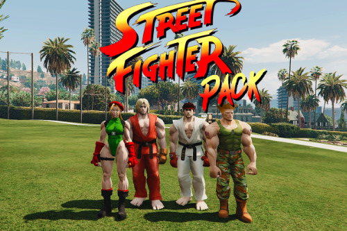 Street Fighter Pack [Add-On]