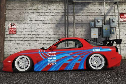 Street Racing Syndicate Mazda RX-7 Livery