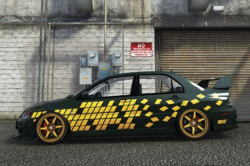 Street Racing Syndicate Mitsubishi Evolution Livery