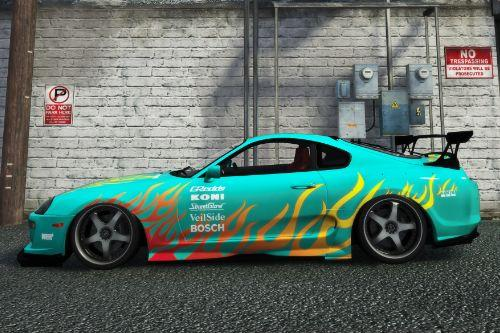 Street Racing Syndicate Toyota Supra Livery