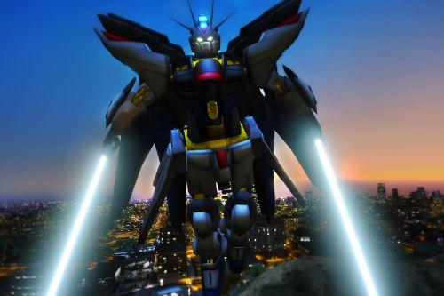 Strike Freedom Gundam [Emissive Big Add-On Ped]
