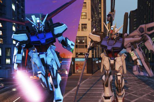 Strike Gundam [Emissive Big Add-On Ped]